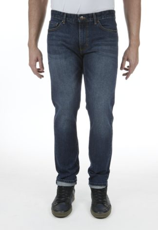 Jeans RL70 coupe droite coton stone brossé