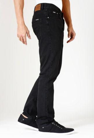 Jeans RL70 coupe droite coton SAM Noir